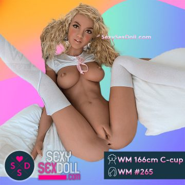 Deep Penetration Sex Doll WM 166cm C-cup Head 265 Stella