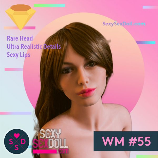 Sexy Lips Sex Doll WM Head #55 Liv
