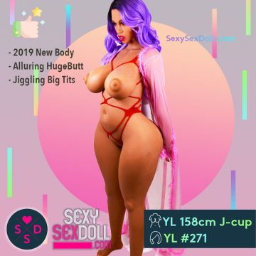 Fiancée Sex Doll Plump YL 158cm J-cup Head 271 Celeste