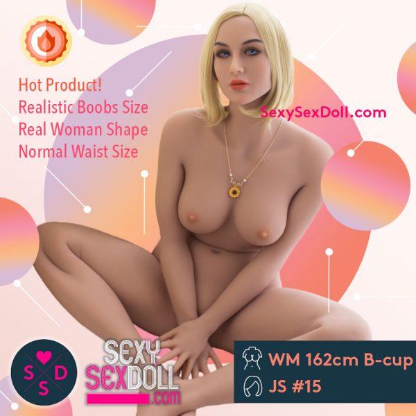 Shameless Sex Doll 162cm 5ft4 B-cup Head 15 Marguerite