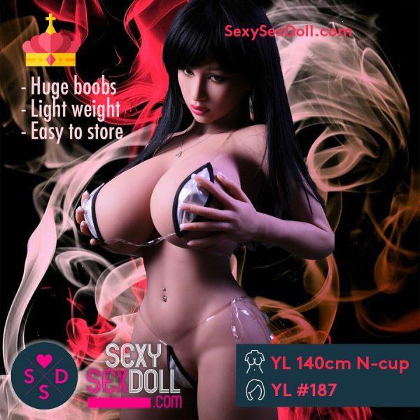 Joylovedolls YL 140cm N-cup Head 187 Alina