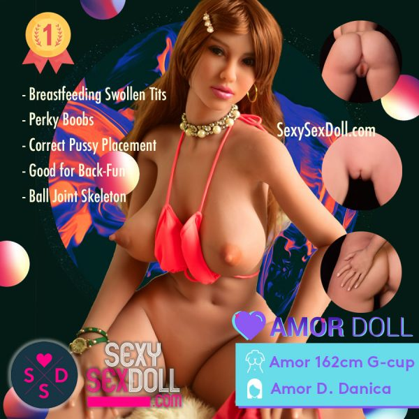 USA Sex Doll Amor 162cm G-cup Head Danica