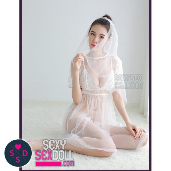See-through Wedding Dress