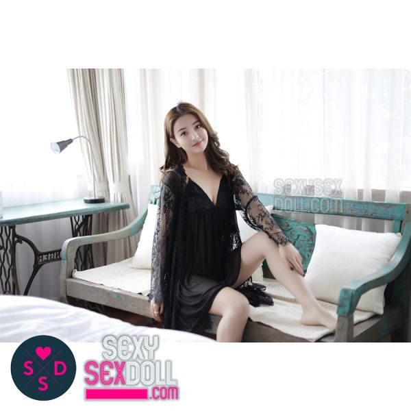 Elegant Black Nightwear