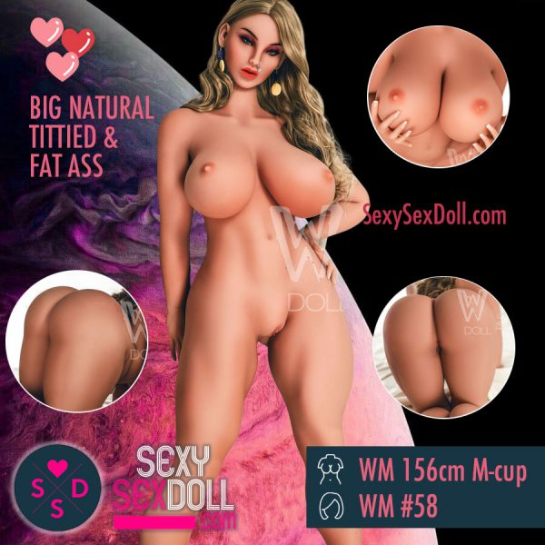 Big Natural Tittied Sex Doll
