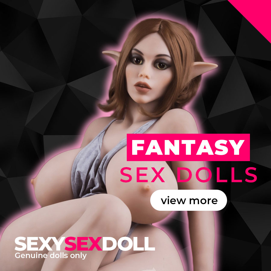 Fantasy TPE & Silicone Real Life Size Sex Doll