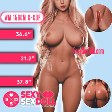 WM 156cm 5ft1 G-Cup Plump Boobs Sex Doll Body