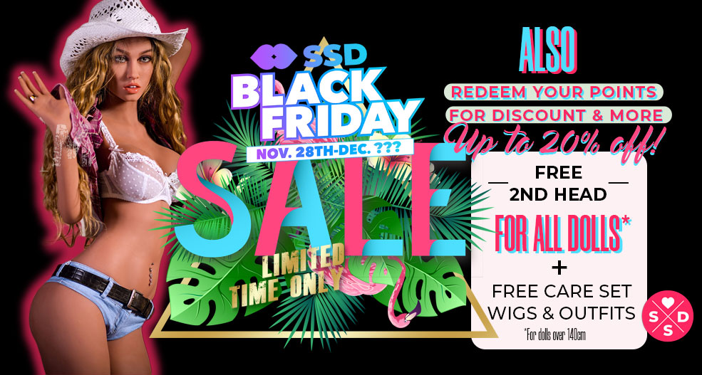 Black Friday Real Love Sex Doll Sale