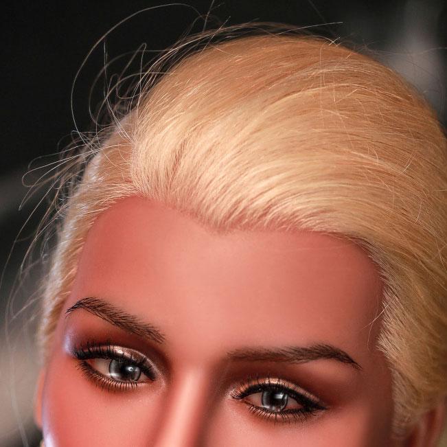 Real Human Hair Implanted
