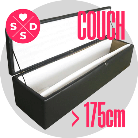 Couch: 175cm and above