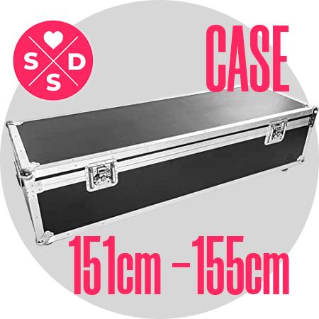 """Case: 151cm – 155cm / 4'11"""" – 5'1″"""